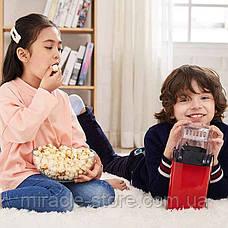 Аппарат для приготовления попкорна с горячим воздухом попкорница машинка для попкорна, фото 3