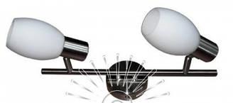 Спот, настенный поворотный светильник в коридор, возле зеркала, на кухню  140-2 бронза