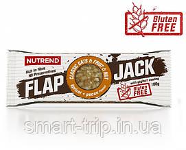 Протеиново-овсяный батончик Nutrend Flap Jack без глютена 100 г абрикос+пекан в йогурт