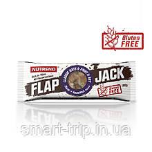 Протеиново-овсяный батончик Nutrend Flap Jack без глютена 100 г слива+леcной орех