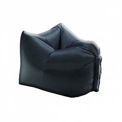 Надувное кресло-лежак Reswing Ламзак Armchair (Lamzac Standart) Чёрный