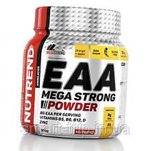 Комплексные аминокислоты Nutrend EAA Mega Strong Powder 300g апельсин+яблоко