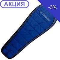 Спальник Trimm HIGHLANDER mid. blue/sea blue 195 R