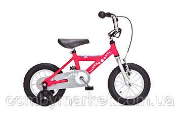"""Детский велосипед Yedoo Pidapi Alu 12"""" от 2 до 4 лет розовый"""
