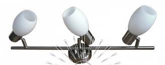 Спот 3-х ламповый, бра  в коридор, в ванную, на кухню 140-3 матовый хром