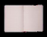 Блокнот BRIGHT, А-5, 32л., кл, карт. обл., структ. лак+ Уфлак, на скобі, KIDS Line, фото 2