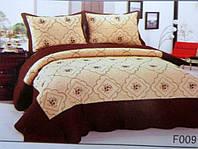 """Стеганное покрывало на кровать двуспальное евро ТМ """"East Comfort"""""""
