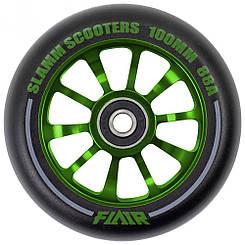 Slamm колесо Flair 2.0 green 100 мм