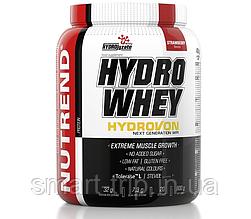 Гидролизат изолята сывороточного протеина Nutrend Hydro Whey 800 g клубника
