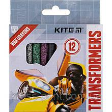 Мелки восковые Kite Transformers TF21-070, 12 цветов