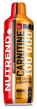 Жиросжигатель карнитин Nutrend CARNITINE 100000 1000 мл кислая вишня