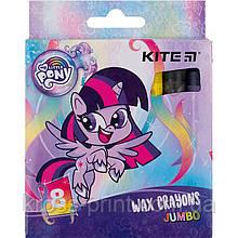 Мелки восковые Kite Jumbo My Little Pony LP21-076, 8 цветов