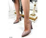 Туфли на устойчивом широком каблуке, фото 2