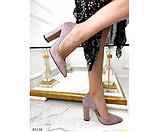 Туфли на устойчивом широком каблуке, фото 3