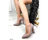 Туфли на устойчивом широком каблуке, фото 5
