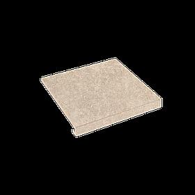 Ступінь кутова П-обр. права Zeus Ceramica Concrete 345x300x35x10.2 Sabbia SZRXRM3R