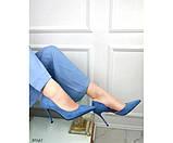 Туфлі на шпильці з вирізом збоку, фото 3
