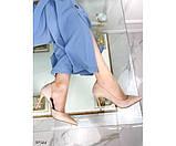 Туфлі на шпильці з вирізом збоку, фото 6