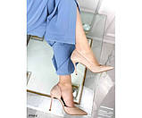 Туфлі на шпильці з вирізом збоку, фото 7
