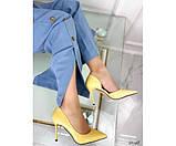 Туфли на шпильке с вырезом сбоку, фото 5