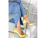Туфлі на шпильці з вирізом збоку, фото 5