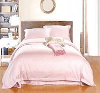 Комплект постельного белья Премиум Сатин Нежно Розовый