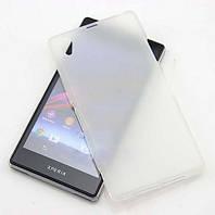 Чехол силиконовый для Sony Xperia Z1 C6902 L39H прозрачный матовый