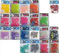 Гумки для плетіння 200шт якісні в пакетиках