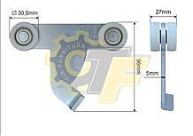Ролик боковой стойки Т-образный 30*110*96 Schmitz