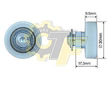 Ролик сдвижной крыши прицепа Schmitz 30*9,5*17,3 original