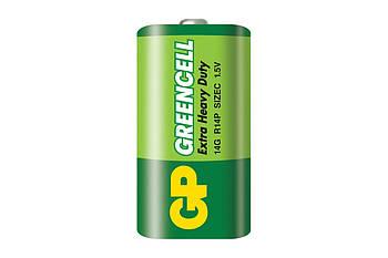 Батарейка GP 14G-U2 Greencell C, R14, 1х2шт (ціна за 1шт)