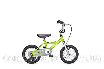 """Детский велосипед Yedoo Pidapi Steel 12"""" от 2 до 4 лет зеленый"""