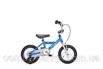 """Детский велосипед Yedoo Pidapi Steel 12"""" от 2 до 4 лет синий"""