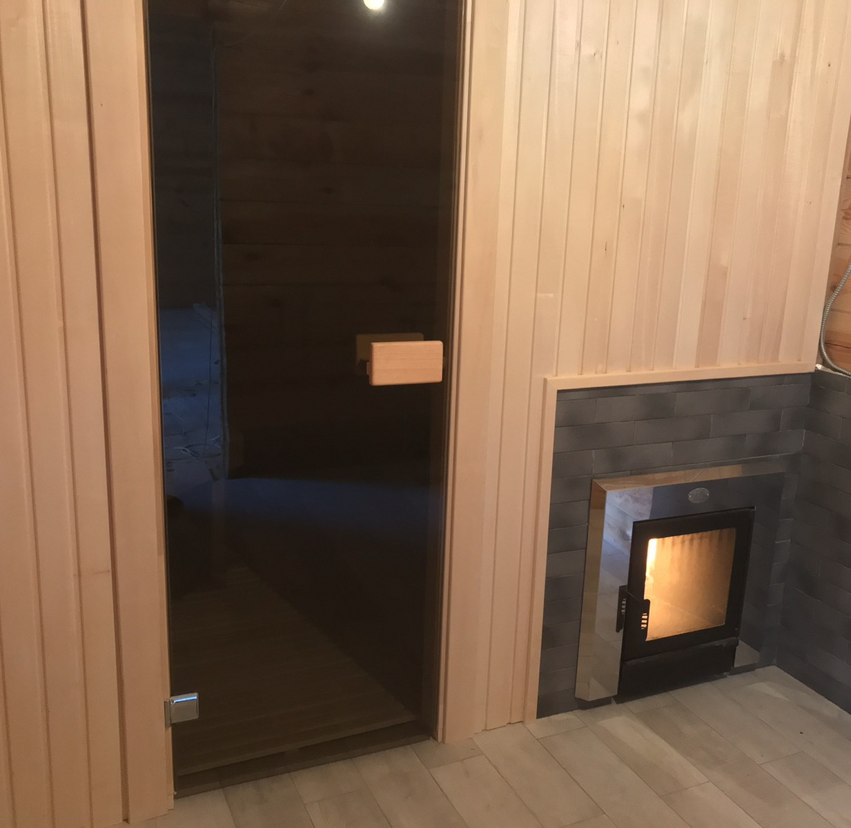 Баня под ключ 1500*2000мм с дровяной каменкой и дымоходом
