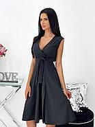 Женское платье миди, без рукавов, с разрезом, фото 3