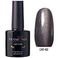"Гель-лак Diamond Professional ""кошачий глаз"" №02, 7.3ml"