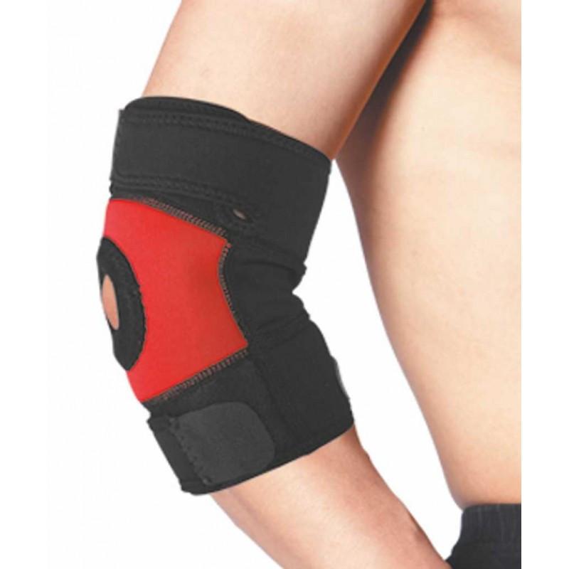 Налокотник эластичный фиксатор локтевого сустава f 1258 фиксатор коленного сустава цена