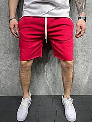 Класичні чоловічі шорти зі шнурками (червоні) тканини легені ssl7