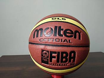 Мяч баскетбольный PU №6 MOL GL6