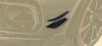 MANSORY race flaps for Wide body for front bumper for Bentley Bentayga