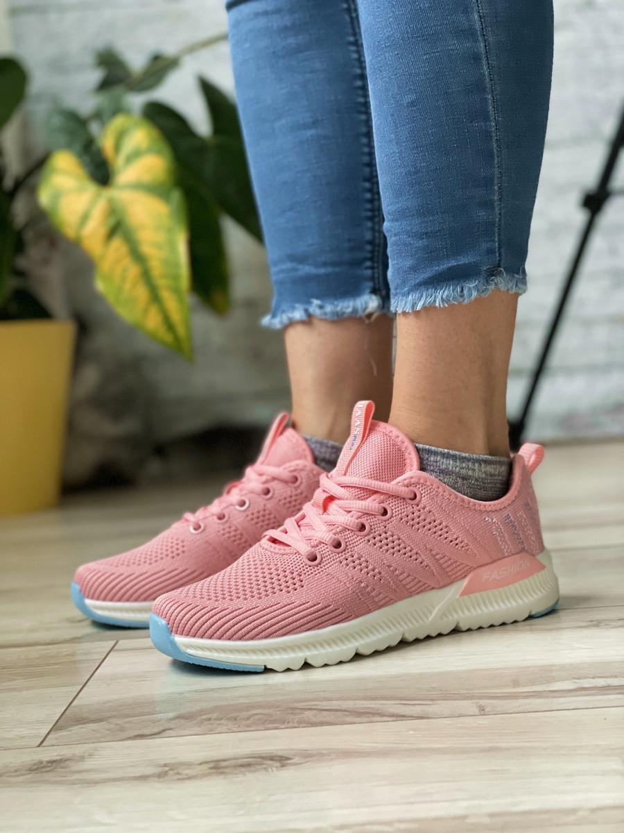 Кросівки жіночі 10425, BaaS Ploa, рожеві, [ 36 37 38 39 40 41 ] р. 36-22,8 див.