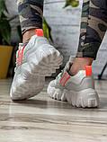Кросівки жіночі 10522, BaaS Cushion, білі, [ 36 37 38 39 ] р. 36-22,5 див., фото 5