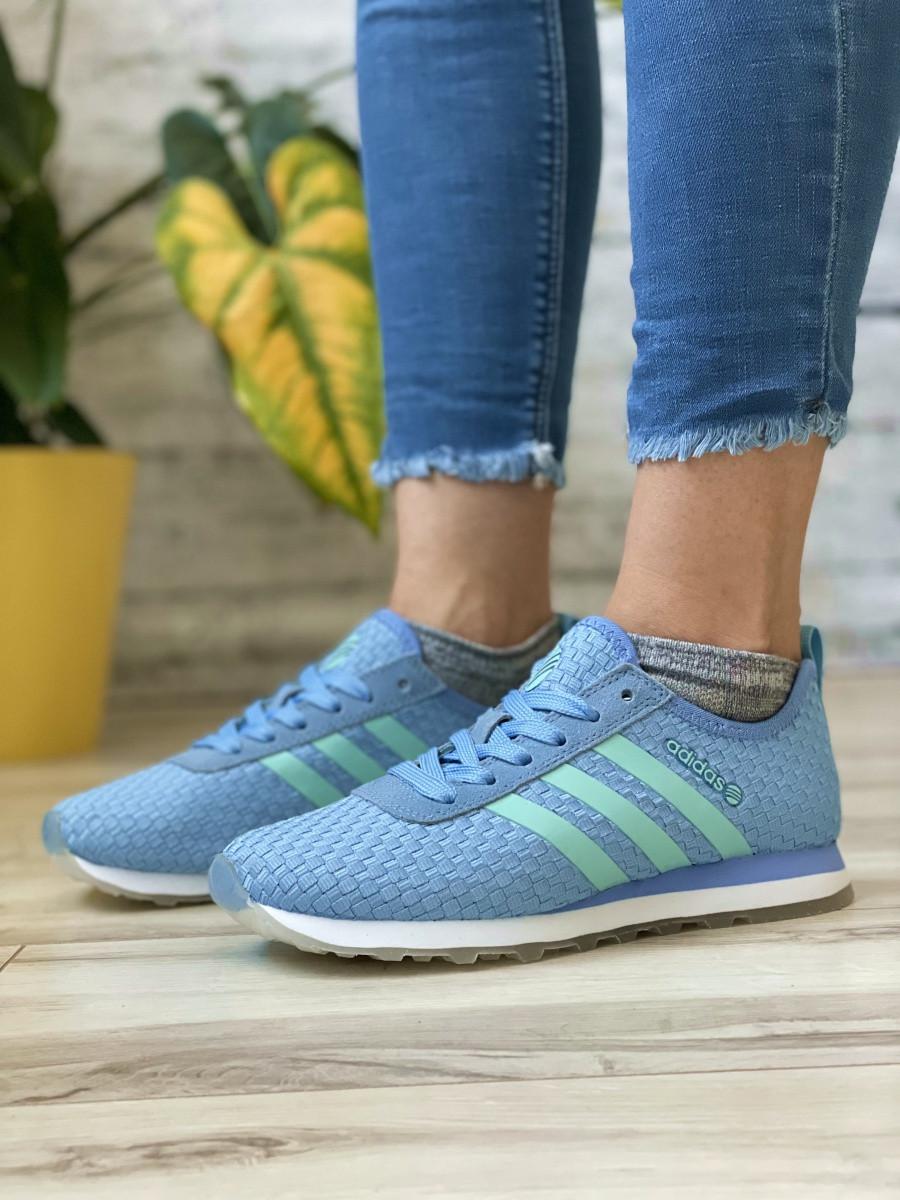 Кроссовки женские 13417, Adidas Lite, фиолетовые [ 37 38 40 ] р.(37-23,1см)