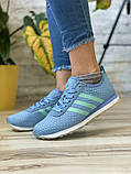 Кроссовки женские 13417, Adidas Lite, фиолетовые [ 37 38 40 ] р.(37-23,1см), фото 2