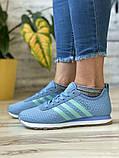 Кроссовки женские 13417, Adidas Lite, фиолетовые [ 37 38 40 ] р.(37-23,1см), фото 3