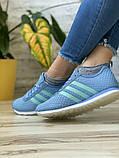 Кроссовки женские 13417, Adidas Lite, фиолетовые [ 37 38 40 ] р.(37-23,1см), фото 7