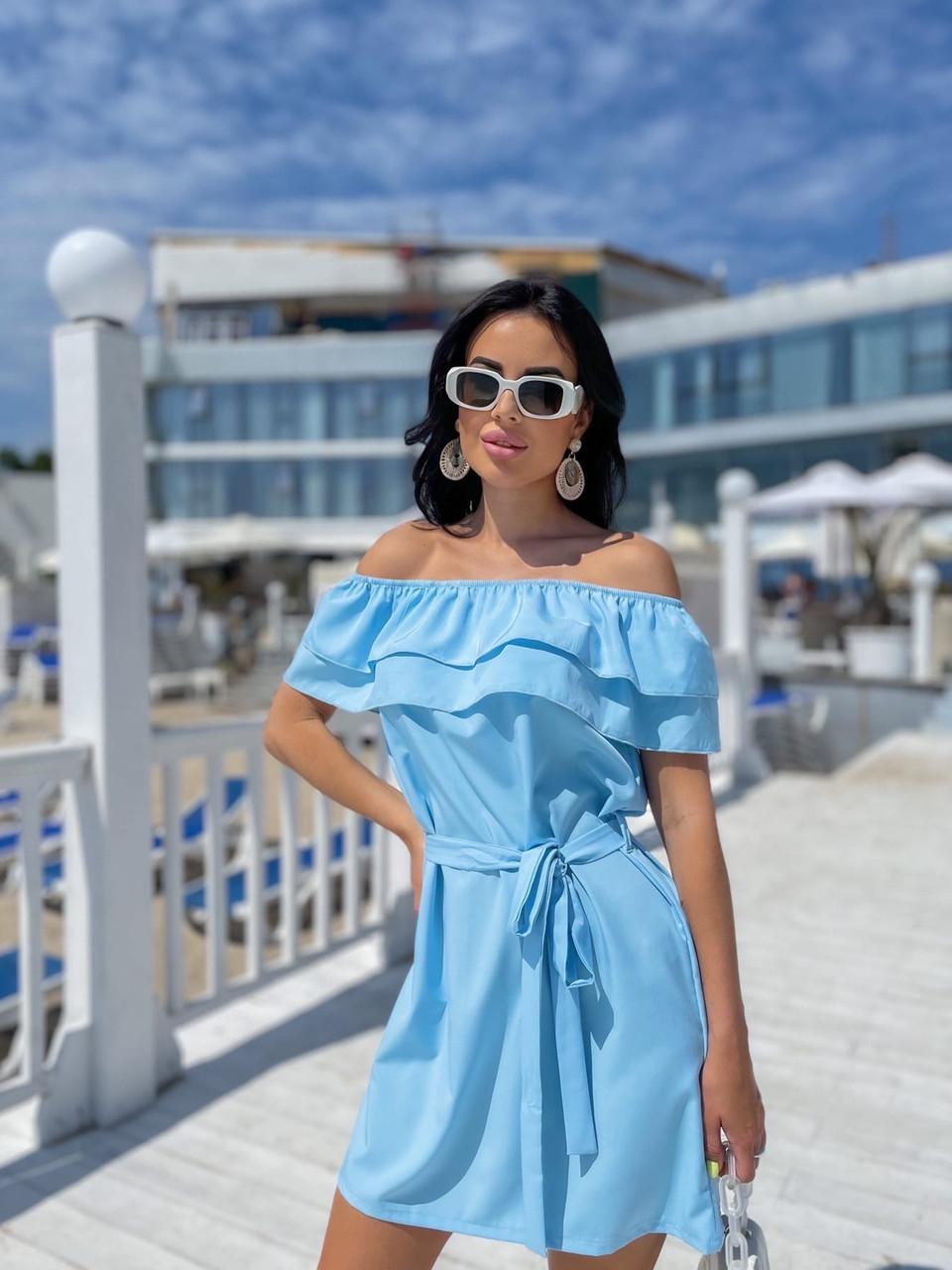 Жіноче літнє плаття Супер софт Розмір 42 44 46 48 Різні кольори