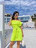 Жіноче літнє плаття Супер софт Розмір 42 44 46 48 Різні кольори, фото 2