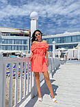Жіноче літнє плаття Супер софт Розмір 42 44 46 48 Різні кольори, фото 5