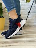 Кросівки жіночі 15654, Adidas AlphaBounce Instinct, темно-сині, [ 36 38 ] р. 36-22,5 див., фото 2
